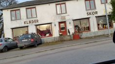 High fashion shopping in Lövestad :-)