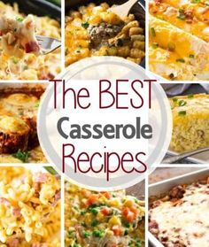 Love a delicious casserole recipe? We have round up the BEST Casserole Recipes and we have everything from Crock Pot Recipes, breakfast casseroles, pasta casseroles, wild rice casseroles and more! If you are looking for a traditional, hearty casserole then you will find that recipe here! #casserole #recipe