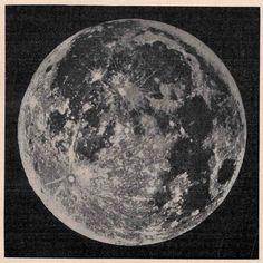 1900 moon original antique celestial astronomy print