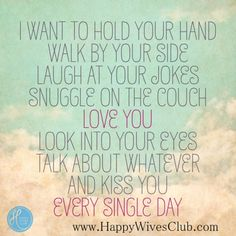I want to hold your hand...