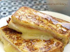 ハニーなハムとチーズのクロックムッシュ♪の画像