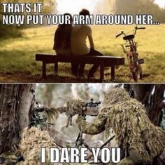 11 sniper memes that will make you laugh for hours - Americas Military Entertainment Brand Military Jokes, Army Humor, Army Memes, Dad Humor, Military Brat, Really Funny, Funny Cute, Funny Dad, Hunting Humor