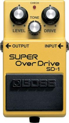 Guaranteed Lowest Price, Fast and Free Shipping, Five Star Customer Service. Boss SD-1 Super Overdrive Guitar Effect Pedal Now Available. YandasMusic.com - Your Hometown Music Store Champion.