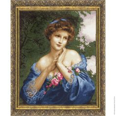 Cross Stitch Kit by Golden Fleece - Summer rose by ArtfulStitchings on Etsy