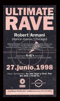 1998 Flyer Ultimate Rave (Flyer)