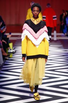 MSGM Autumn/Winter 2017 Ready-to-Wear Collection