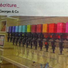 """George & Co """"le bar à encre"""" """"the ink bar""""  90 rue du bac Paris 7e"""