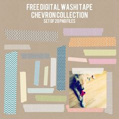 Tiny Treasures Help: Free Blog Stuff- Digital Washi Tapes