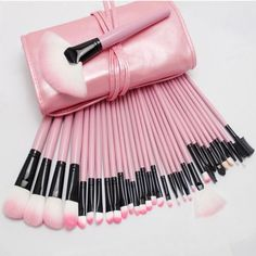 32PCS Synthetic Hair Makeup Brushes Cosmetics Accessory