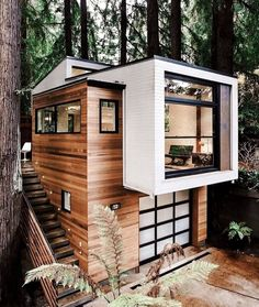 Cabin Design, Tiny House Design, Modern House Design, Casas The Sims 4, Forest House, Forest Cabin, Farm House, Sims House, Cabins In The Woods