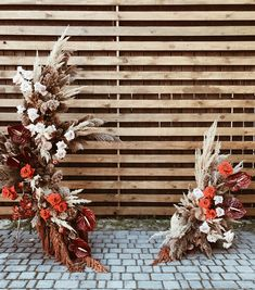 """possible """"Ceremony Arch"""" design, love the contrast and shape, maybe different color theme. Wedding Navy, Floral Wedding, Fall Wedding, Wedding Flowers, Wedding Ceremony Decorations, Ceremony Backdrop, Wedding Trends, Wedding Styles, Winter Wedding Colors"""