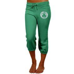 adidas Boston Celtics Ladies Kelly Green Originals Bigger Better Cropped  Pants  Fanatics  FanaticsWishList Celtics e3a4aa95af88