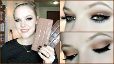 PLEASE READ: Too Faced released their Semi Sweet Chocolate Bar Palette a few weeks ago, and I couldn't wait to get my hands on it! Chocolate Makeup, Chocolate Bar Eyeshadow, Chocolate Bar Palette, Chocolate Bars, Makeup Geek, Hair Makeup, Too Faced Semi Sweet, Eye Tutorial, Blue Eye Makeup