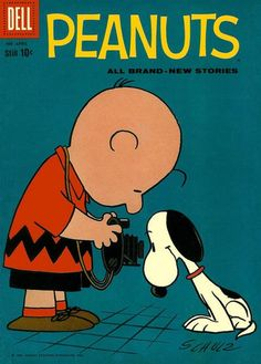(via Covered: Peanuts 4) cover byDale Hale; Dell 1960.