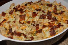 Chicken Bacon Ranch Casserole | The Cookin Chicks