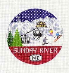 Sunday River 18 mesh