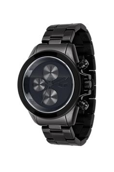 Special Offers Available Click Image Above: Vestal Unisex Stainless Watch - Black Bracelet - Black Dial - Cool Watches, Watches For Men, Wrist Watches, Vestal Watches, Swarovski Watches, Black Bracelets, Black Stainless Steel, Unisex, Casual Shirts For Men