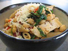 Tuscan Chicken Pasta | GlossyVeneer Kitchen