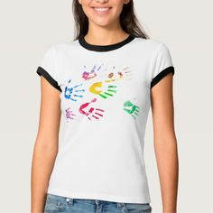 Shop Rainbow Color Arms Prints T-Shirt created by JennyRainbow. Buy Art Online, Fine Art Photography, Rainbow Colors, Shirt Style, Shirt Designs, Gifts For Her, Arms, Store, Prints
