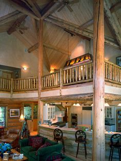 Spaces Log Cabin Design, Pictures, Remodel, Decor and Ideas - page 6