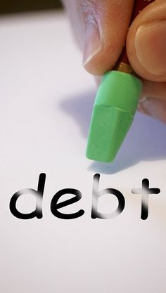 get ride of debt, pay down debt, manage your debt