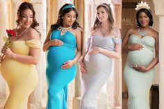 a7b11742c2a 15 Magical Photos of Moms-to-Be as Disney Princesses