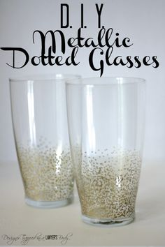 Knock Out Knock Offs: Anthropologie Inspired Metallic Dotted Glasses - Designer Trapped in a Lawyer's Body