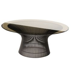 Platner Coffee Table by Knoll. This product was used in the Collide collection photography.