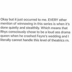 Rhysand during Feylin's wedding in acomaf A Court Of Wings And Ruin, A Court Of Mist And Fury, Book Tv, Book Nerd, Book Memes, Book Quotes, Acotar Funny, Sara J Maas, Feyre And Rhysand