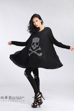 fashion style many fashionable super cheap 28 Best plus size SKULL CLOTHES images | Clothes, Plus size ...