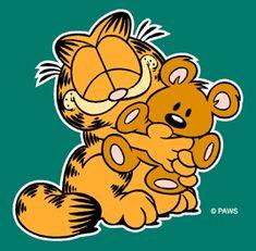 Gifs do Garfield Gato Garfield, Garfield Cartoon, Vintage Cartoon, Cartoon Movies, Cartoon Characters, Dallas Cowboys Posters, Garfield Quotes, Garfield Christmas, Seashell Tattoos