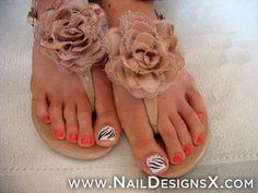 beautiful toe nail art » Nail Designs & Nail Art