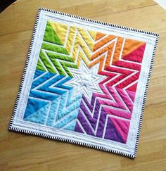 Foundation pieced star in color order! | Flickr - Photo Sharing!