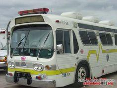 San Antonio Fire Department Rehab Units (all retired)
