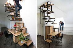 Desain tangga ini dijamin nggak ngebosenin & bikin rumah artistik