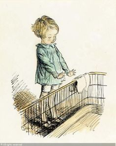 Christopher Robin by the fireside sold by Christie's, London, on Wednesday, December 04, 2002