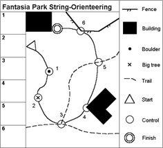 Sample string-orienteering course