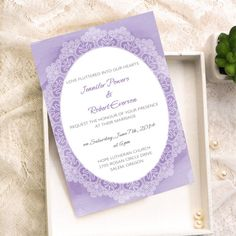 Dantelli Düğün Davetiyesi Modelleri- Vintage Lace Wedding Invites-5
