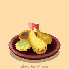 slimu slimu slimu, Japanese Food Party :D
