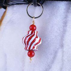 Christmas Candy  Pet jewelry dog collar charm by barleecreations, $7.50