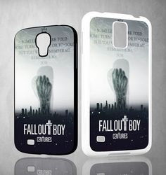 Fall Out Boy X0104 Samsung Galaxy S3 S4 S5 (Mini), Note 2 3 4, HTC One M7 M8 Cases
