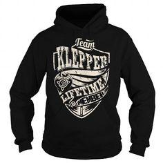 I Love Team KLEPPER Lifetime Member (Dragon) - Last Name, Surname T-Shirt T-Shirts