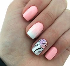 Photo, Photo Requires a little nail base creativity design for your short toenails N . Best Acrylic Nails, Acrylic Nail Designs, Nail Art Designs, Nail Art Arabesque, Dream Catcher Nails, Watermelon Nails, Tribal Nails, Gem Nails, Fire Nails