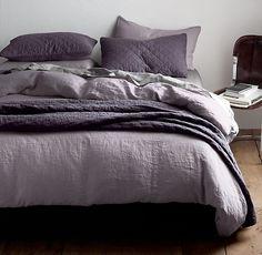 Bädda sängen med linnelakan för snygg sovkomfort | Sköna hem