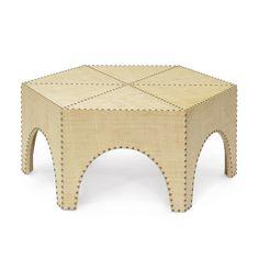 Casablanca Raffia Coffee Table