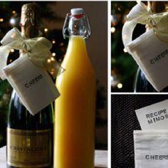 Hostess gift idea.