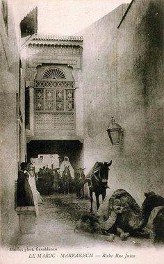 Maroc-Riche Rue Juive_Marrakech