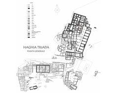 Planta de Hagia Triada.