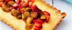 UKENS KAKE: Limepai med rabarbra og jordbær er uimotståelig syrlig og godt - Aperitif.no