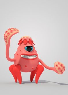 Pets and Monsters, 3d character designs and illustrations.The Making Of at 3D Total:http://www.3dtotal.com/index_tutorial_detailed.php?id=2035#.VX-1x0b-lhE